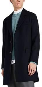 Ami Alexandre Mattiussi Men's Wool-Blend Topcoat - Navy