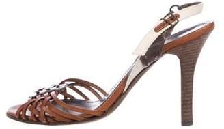Proenza Schouler Multistrap Slingback Sandals