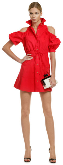 Opening Ceremony It Girl Shirt Dress