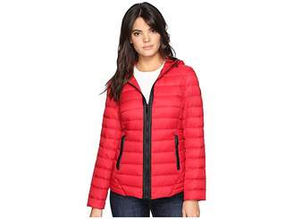 MICHAEL Michael Kors Zip Front Short Down M822543T Women's Coat