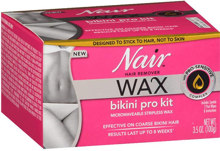Nair Wax Bikini Stripless Pro Kit