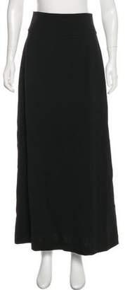 Saint Laurent Wool Maxi Skirt