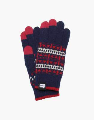 Madewell EVOLG Jacquard Touchscreen Gloves