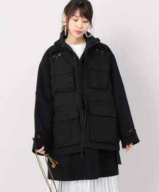 BOICE FROM BAYCREW'S POSTELEGANT VestLayered Coat