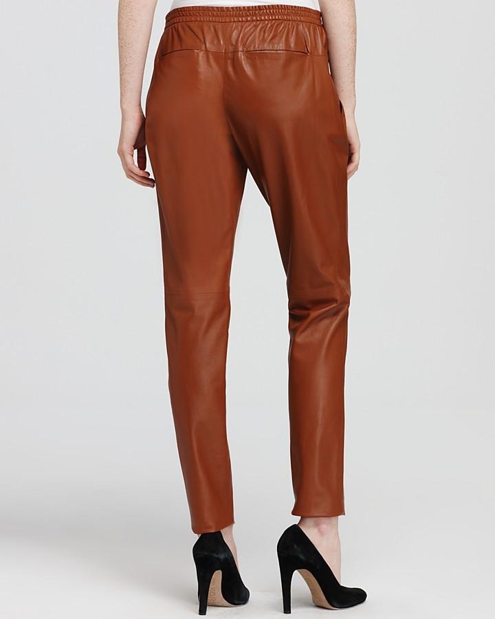 Theory Pants - Katla Leather