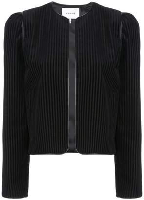 Frame cropped corduroy jacket