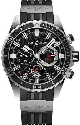 Ulysse Nardin 1503-151-3/92 Marine Diver Chronograph stainless steel watch