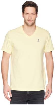 Psycho Bunny Classic V-Neck T-Shirt Men's T Shirt