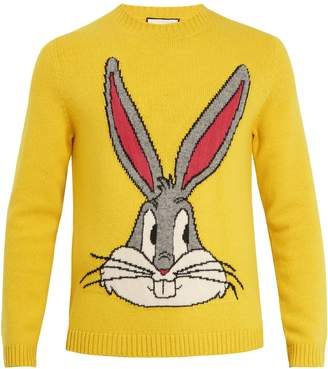 Gucci Bugs Bunny wool sweater