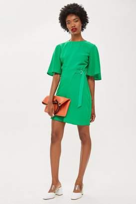 Topshop Cut Out Mini Dress