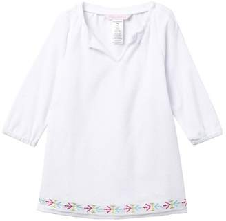 Tommy Bahama Embroidered Terry Cover-Up (Little Girls)