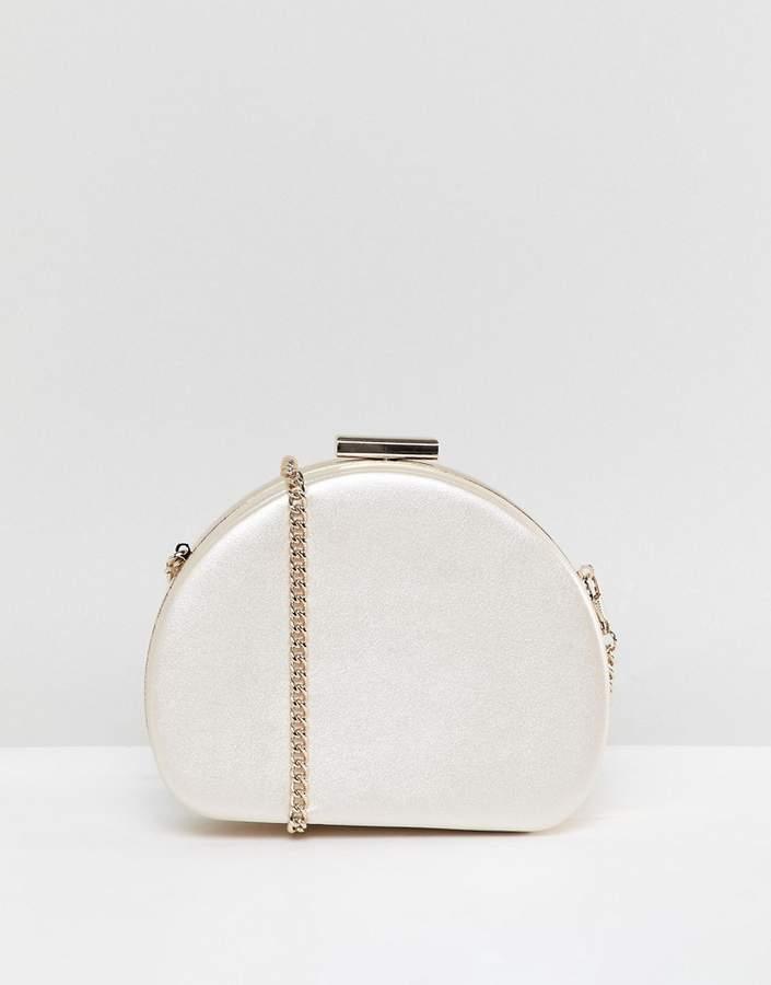 Miss KG Oval Structured Match Clutch Bag