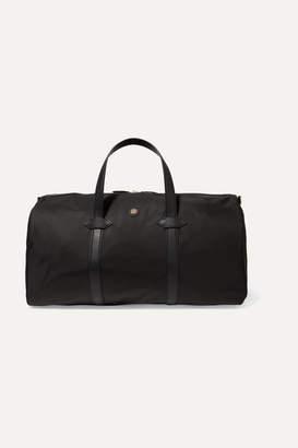 Paravel Leather-trimmed Shell Weekend Bag - Black