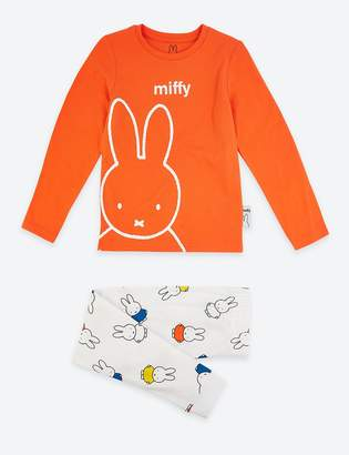 Marks and Spencer Miffy Print Pyjama Set (1-7 Years)