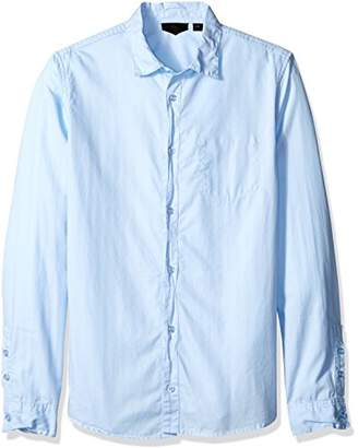 Rogue Men's Button up Solid Woven Shirt