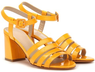 Maryam Nassir Zadeh Palma High patent leather sandals