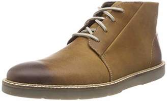 1144e8984807c Clarks Brown Leather Shoes For Men - ShopStyle UK