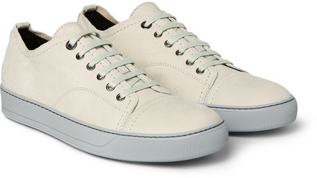 Lanvin Nubuck Leather Sneakers