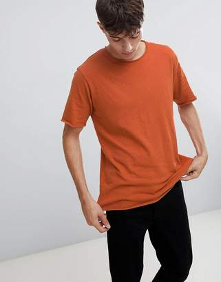 ONLY & SONS T-Shirt With Roll Hem
