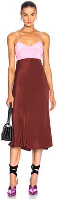 Tibi Silk Bias Dress