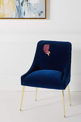 Astonishing Blue Velvet Chairs Shopstyle Ibusinesslaw Wood Chair Design Ideas Ibusinesslaworg