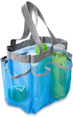 Honey-Can-Do 7 Pocket Shower Tote, Blue