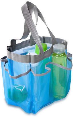 Honey-Can-Do 7 Pocket Shower Tote, Blue