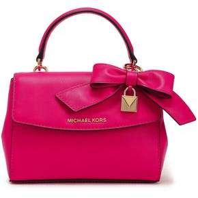 MICHAEL Michael Kors Bow-embellished Leather Tote