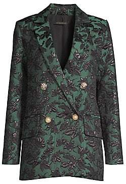 Mother of Pearl Women's Francis Jacquard Double Breasted Blazer
