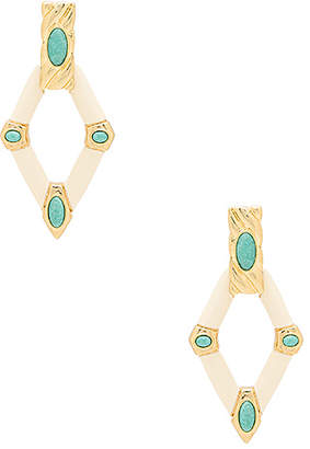 House of Harlow 1960 Valda Statement Earrings in Ivory. $90 thestylecure.com