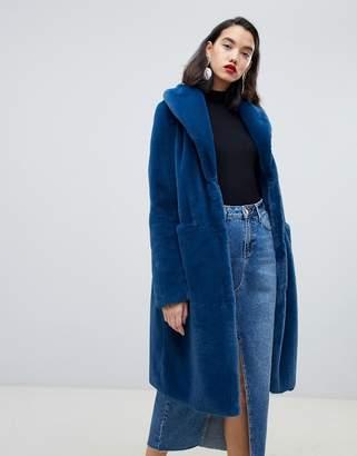 Vero Moda Faux Fur Coat