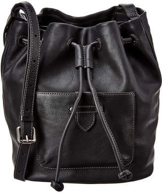 Frye Olivia Leather Bucket Bag