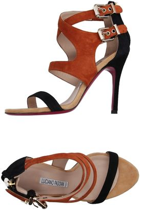 LUCIANO PADOVAN Sandals $351 thestylecure.com