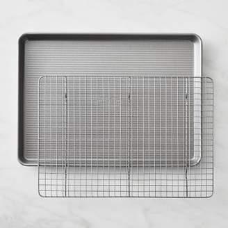 USA Pan Nonstick Half Sheet with Baking Rack