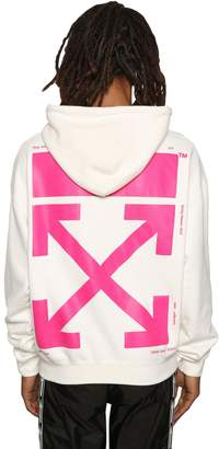 Off-White Off White Bart Embroidered Sweatshirt Hoodie