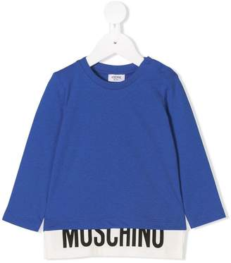 Moschino Kids branded T-shirt