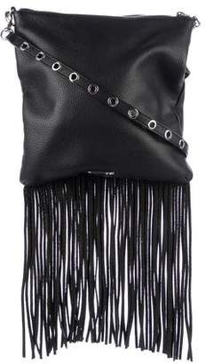 Rebecca Minkoff Fringe-Trimmed Leather Crossbody Bag