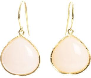 Irene Neuwirth Pink Opal Earrings