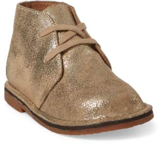 Ralph Lauren Carl Metallic Chukka Boot