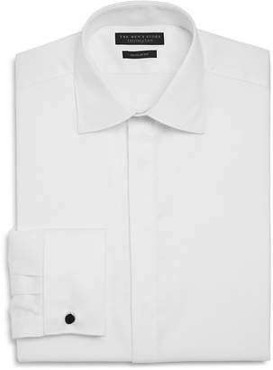 The Men's Store at Bloomingdale's Textured Regular Fit Tuxedo Shirt $95 thestylecure.com