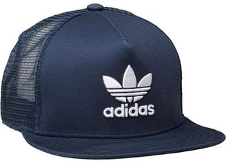 adidas Trefoil Trucker Cap Rich Blue/White