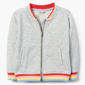 Gymboree Rainbow Bomber Jacket