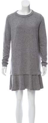 White + Warren Knit Mini Dress