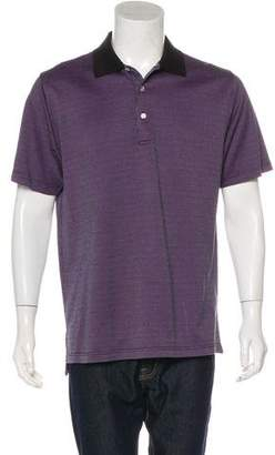 Peter Millar Button-Up Polo Shirt