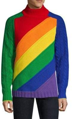 Burberry Rainbow Wool& Cashmere Sweater