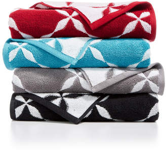 Charter Club CLOSEOUT! Cotton Fashion Trellis Bath Towel Collection, Created for Macy's & Reviews - Bath Towels - Bed & Bath - Macy's