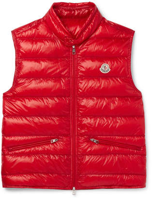 Moncler Gui Quilted Shell Down Gilet