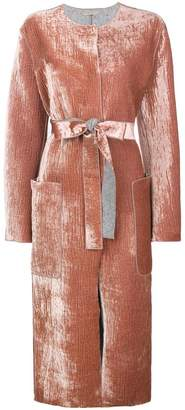 Bottega Veneta oversized belted coat