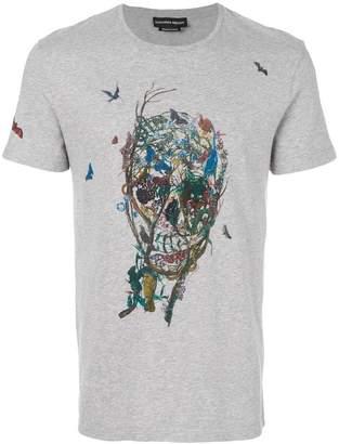 Alexander McQueen butterfly skull T-shirt