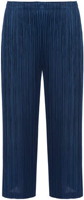 Pleats Please Issey Miyake Thicker Bottom Cropped Pants